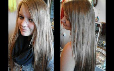 Peloco: Verlängerung und Verdichtung der eigenen Haare mit naturblonden Kunsthaaren
