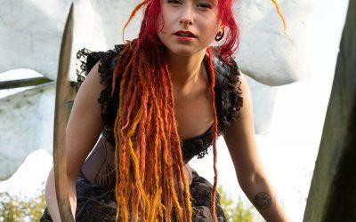 Franky's Peloco Fairytales: Erstkontakt mit der Piratenbraut und ihren rotgoldenen Dreadlocks (Copyright by: FotoFrank)