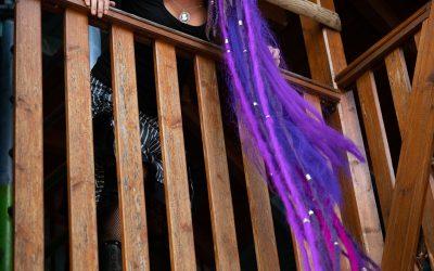 Franky's Peloco Fairytales: Rapunzels ließ ihre extrem langen Dreadlocks regelmäßig bei der Ausschau nach einem Königssohn herunter (Copyright by: FotoFrank)