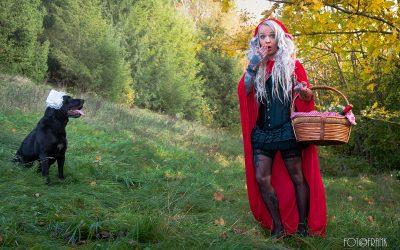 Franky's Peloco Fairytales: Böse Überraschung für Rotkäppchen (Copyright by: FotoFrank)