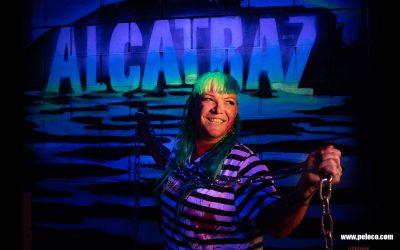 Franky's Peloco Flash: Angie - die Queen unter den Dreadheads und Ausbrecherinnen aus Alcatraz bzw. der 'normalen' Frisurenwelt. #hairdressermagic (Copyright by: FotoFrank)