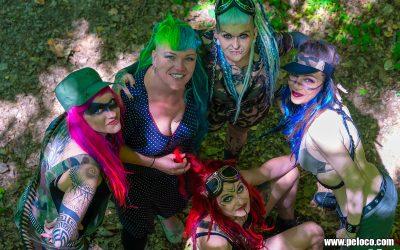 Fredy's Peloco Survivors: The colorful survivor crew (Copyright by: Manfred Voit)