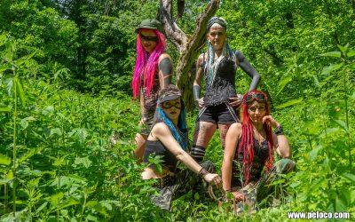 Fredy's Peloco Survivors: Unsere Survivor Girls haben die Extraportion Verrücktheit mit ihren Dreadlocks, Rastas, Extensions und knalligen Haarfarben immer im Visir (Copyright by: Manfred Voit)