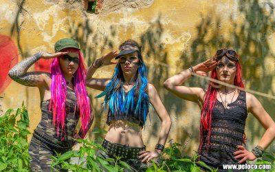 Fredy's Peloco Survivors: Salutiert den wunderschönen Farben des Lebens (Copyright by: Manfred Voit)