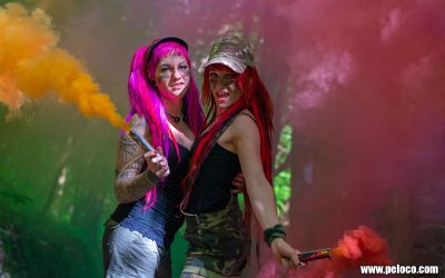 Fredy's Peloco Survivors: Color your life, not only your hair (Copyright by: Manfred Voit)
