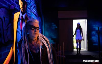 Franky's Peloco Flash: Peloco - Enter a strange world of colorful Dreadlocks, Extensions, Braids, alternative and creative Hairstyles. (Copyright by: FotoFrank)